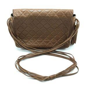 eaa0a2d96f8f6e CHANEL Bags   Vintage Quilted Fringe Tassel Crossbody Bag   Poshmark